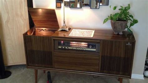 grundig console stereo youtube