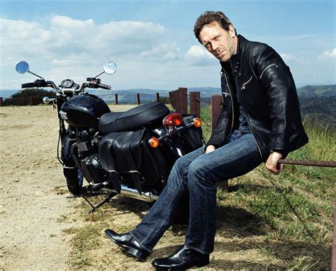 Um...what Kind Of Motorcycle Does Hugh Laurie Ride? That's