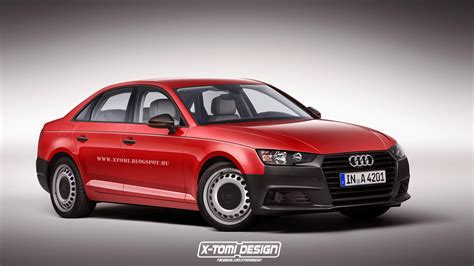 cheap audi   rendered  steel wheels  uncolored