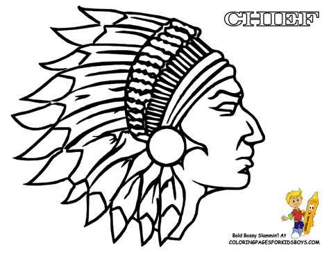 indian coloring pages getcoloringpagescom