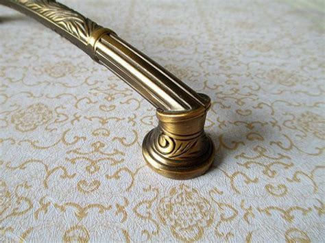 dresser pull drawer handles pulls knobs antique brass