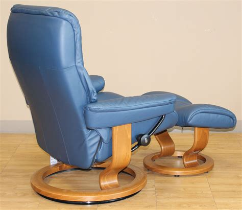 stressless chelsea small mayfair oxford blue