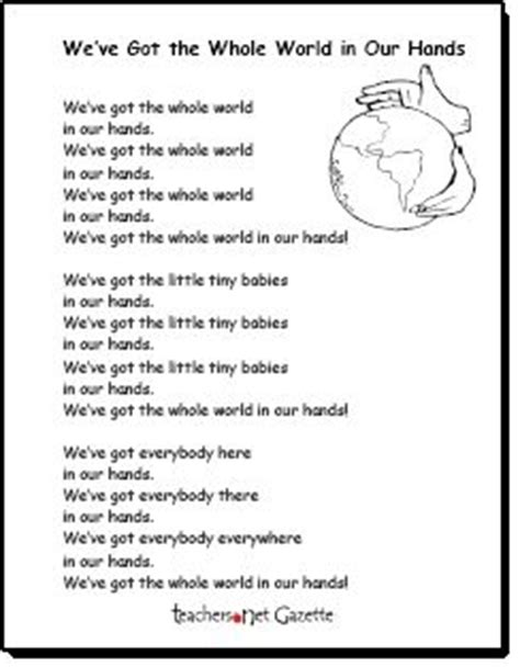 preschool earth day songs we ve got the whole world in our earth day song 827