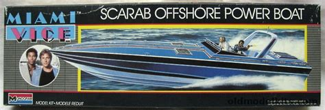 Miami Vice Offshore Boat by Monogram 1 36 Miami Vice Wellcraft Scarab Offshore Power