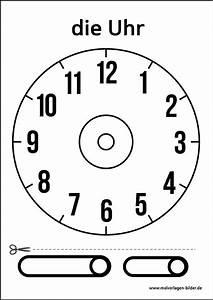 Uhr Zum Hinstellen : uhr vorlage zum ausdrucken schule pinterest ~ Michelbontemps.com Haus und Dekorationen