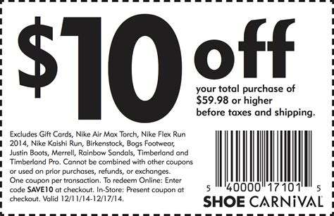 Shoes Coupon Printable Shoe Coupons