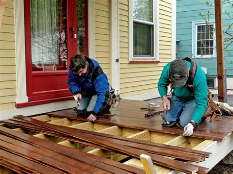 fixing the porch house house