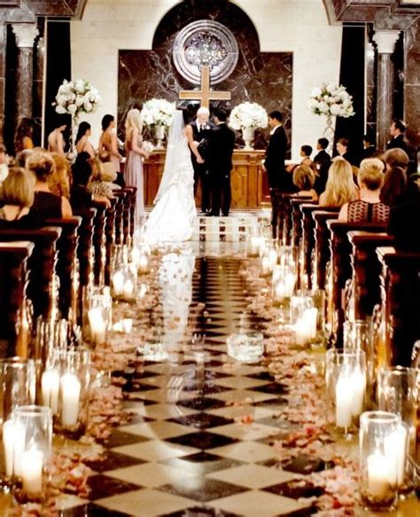 best 25 wedding aisle candles ideas on