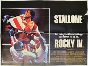 Rocky IV - Original Cinema Movie Poster From pastposters ...