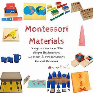Montessori Materials ⋆ Sugar, Spice and Glitter