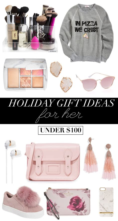 holiday gift ideas for her under 100 money can buy