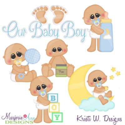 The free cut files include svg, dxf, eps and png formats. Our Baby Boy Exclusive SVG Cutting Files Includes Clipart ...