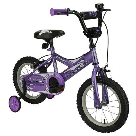 Pony 12 Inch Bmx Kids Bicycle  Purple Jollymap