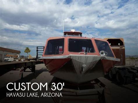 Outboard Boat Motors For Sale In Arizona by For Sale Used 1993 Custom Bentz 30 Tour Boat In Havasu