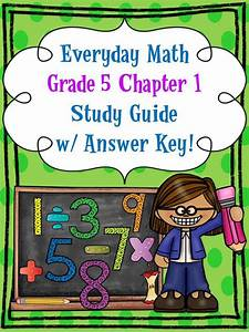 Free   Everyday Math  Grade 5  Chapter 1 Study Guide W