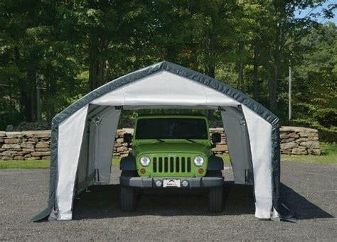 shelter garage shelterlogic 12x15x9 accelaframe heavy duty shelter