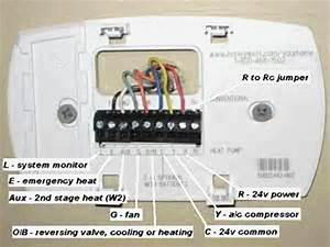 5 Wire Honeywell Thermostat Wiring