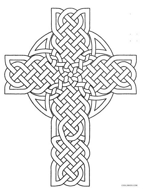Coloring Pages by Free Printable Cross Coloring Pages For Cool2bkids