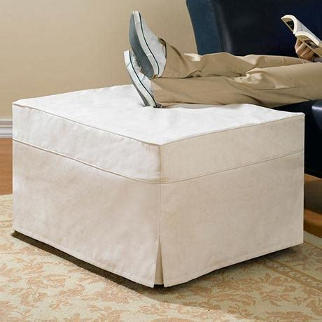 ottoman hideaway bed hide a bed ottoman slip cover at support plus fd6722