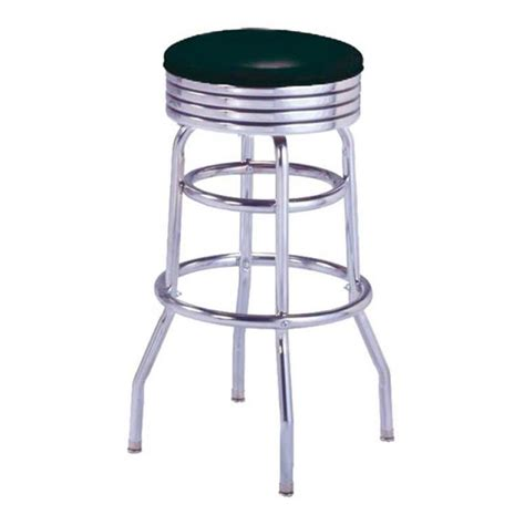 tabouret de bar noir sans dossier us way of