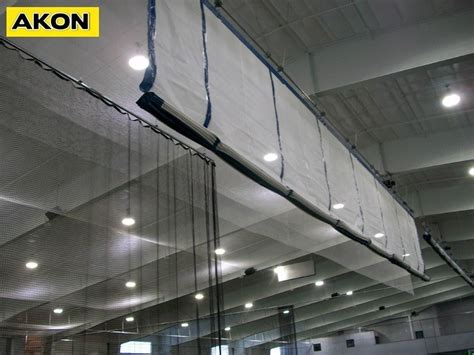 sport net track by akon industrial curtain track