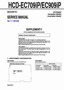 Sony Hcd-ec709ip  Hcd-ec909ip Service Manual