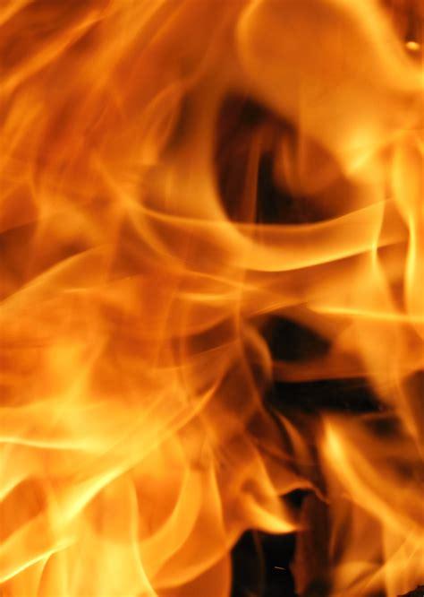 yellow flame  stock photo