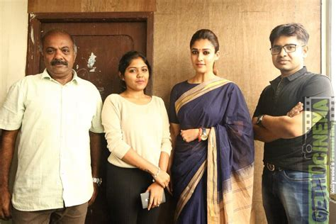 Actress Nayanthara At Aramm Movie Promotion For Theaters