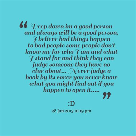 Good And Bad Person Quotes