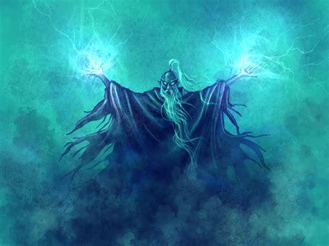 lightning mage by deepchrome on