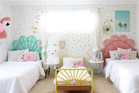 Girls Bedroom Ideas Shared Room Kids More The Elegant Home