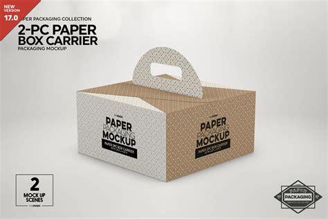 paper box business cards mockup  mockups psd