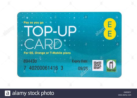 Ee Mobile Number by Ee Pay As You Go Top Up Card For Ee Orange Or T Mobile