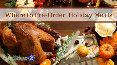 We've made it easy with all kinds of menus for traditional whether you're hosting thanksgiving for the first time or you've been doing it for years, you're likely. Thanksgiving Dinner To Go - Where to Order Your Holiday Meal