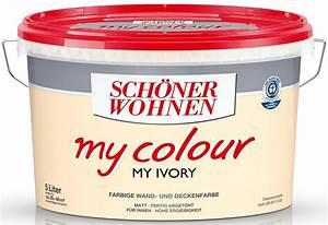 Farbe Schöner Wohnen : sch ner wohnen farbe innenfarbe my colour my ivory online kaufen otto ~ Buech-reservation.com Haus und Dekorationen