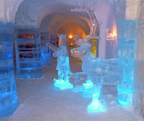 After A Night In The Igloo Hotel, The Cold Doesn't Bother