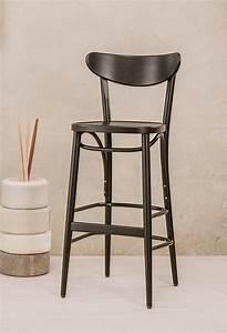 Chaise De Bar Haute : chaise de bar haute avec repose pieds banana 131 ton par 4 ~ Teatrodelosmanantiales.com Idées de Décoration