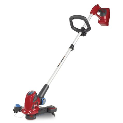 cordless toro weed trimmer eater string volt lithium ion lawn battery trimmers rated wacker inch amazon powered edger mower brand