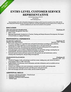 Entry level customer service representative resume for Free resume examples for customer service
