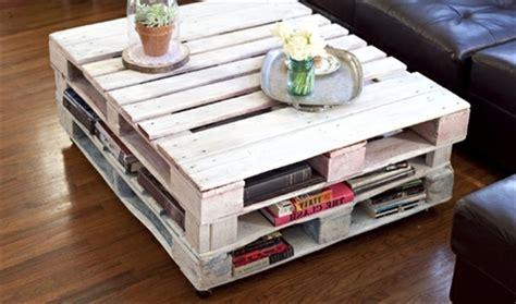 faire des coussins de canapé des idées récup pour fabriquer une table basse soi même