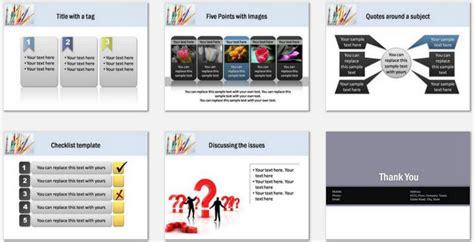 powerpoint education basics template