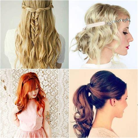 12 easy diy wedding hairstyles crazyforus