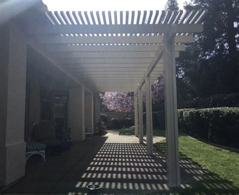 durawood patio cover lattice roseville ca petkus brothers
