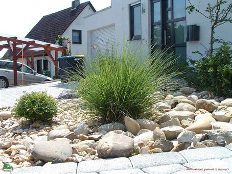 Vorgarten Gestalten Mit Steinen by Gartengestaltung Vorgarten Mit Kies Gestalten Home Ideen