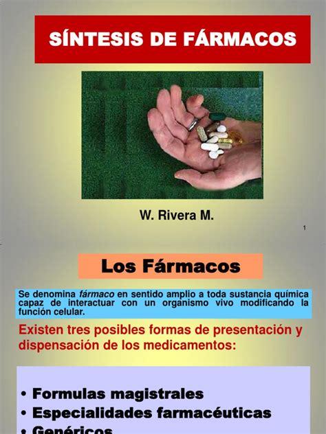 sintesis de farmacos