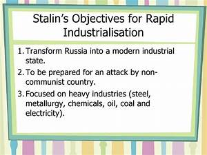 Communist Russia Became An Industrialised Country