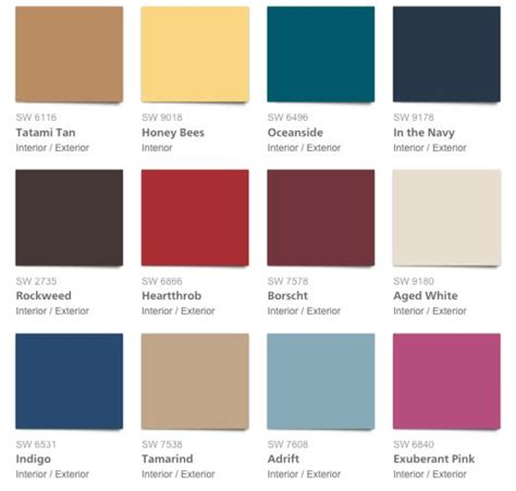 2018 must paint color trends with one