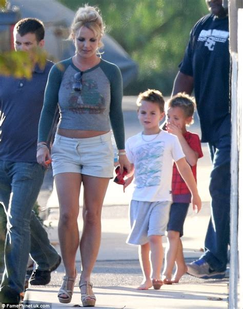 Britney Spears Is The Picture Of A Happy Mother While