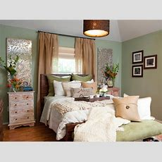 Bedroom With Mint Green Walls Hgtv
