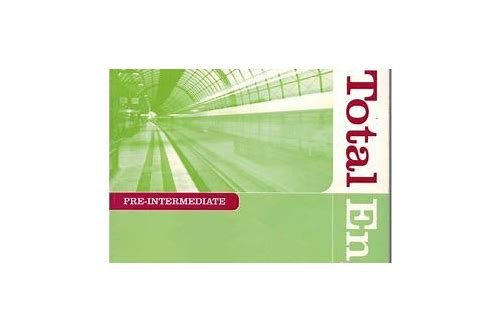 new total english pre-intermediate workbook pdf